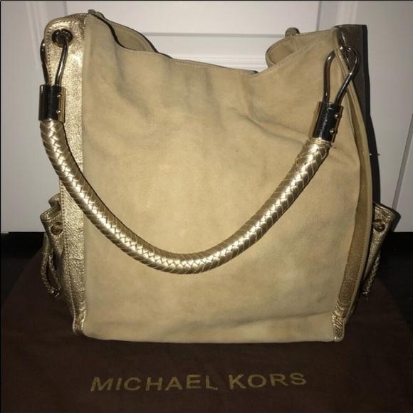 a253ffdfa68a Michael Kors Collection Bags   Skorpios Suede Bag   Poshmark